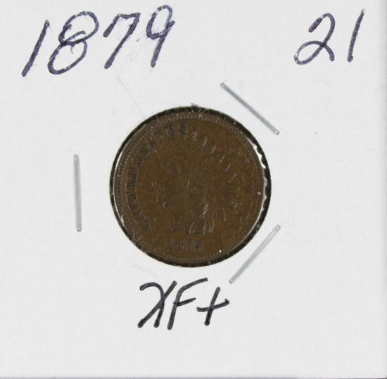 1879 - INDIAN HEAD CENT - XF