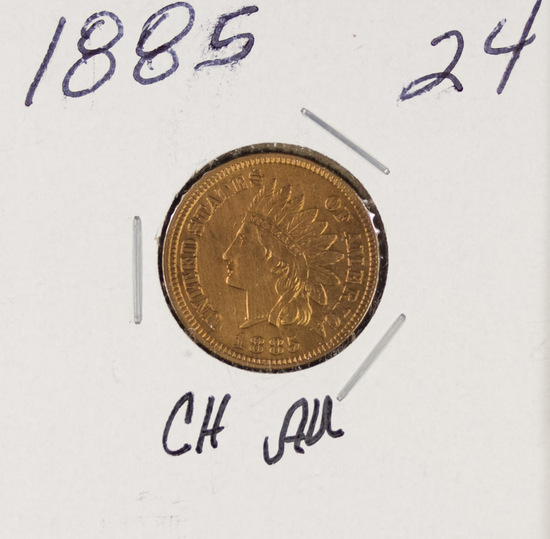 1885 - INDIAN HEAD CENT - AU