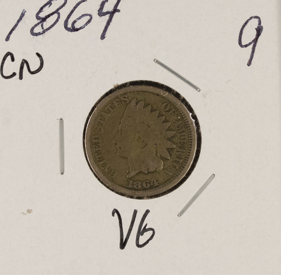 1864CN - INDIAN HEAD CENT - VG