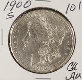 1900-S MORGAN DOLLAR - CH AU