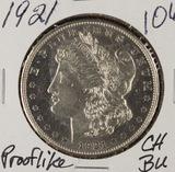 1921 - MORGAN DOLLAR  - CH BU - (PROOF LIKE)