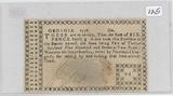 1776 - GEORGIA SIX PENCE NOTE - RARE