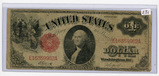 SERIES OF 1917  - $1 - US NOTE - RED SEAL