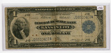 SERIES OF 1918 - $1 - NATIONAL CURRENCY - KC FED