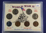 WORLD WAR II COIN SET