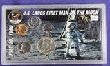 FIRST MAN ON MOON COIN SET