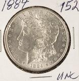 1884 - MORGAN DOLLAR - UNC