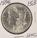 1896 - MORGAN DOLLAR - UNC