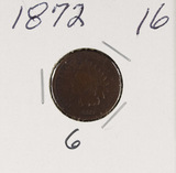 1872 - INDIAN HEAD CENT - G