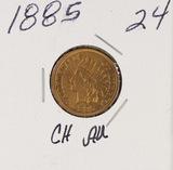 1885 - INDIAN HEAD CENT - AU