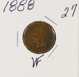 1888 - INDIAN HEAD CENT - VF