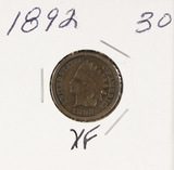1892 - INDIAN HEAD CENT - XF