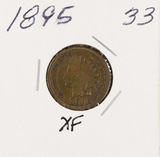 1895 - INDIAN HEAD CENT -XF
