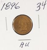 1896 - INDIAN HEAD CENT - AU