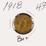 1918 - LINCOLN CENT - BU