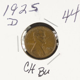 1925-D LINCOLN CENT -BU