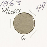 1883 - (WITH CENTS) - LIBERTY HEAD