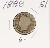 1888 - LIBERTY HEAD