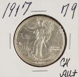 1917 - WALKING LIBERTY - HALF DOLLAR - CH AU