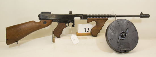 Thompson, Model 1927A1, Semi Auto Rifle, 45