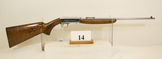 Browning, Model Auto, Rifle, 22 cal, S/N 29974,
