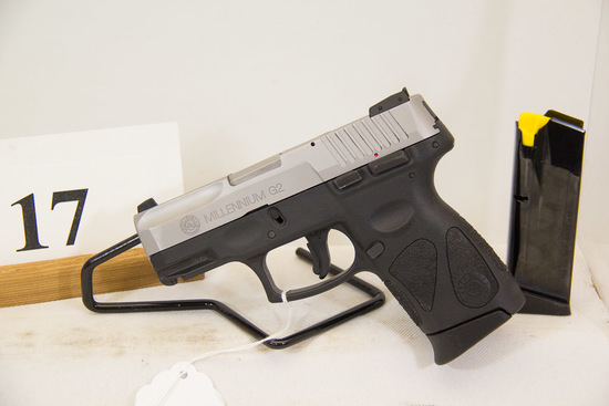 Taurus, Model PT111, Semi Auto Pistol, 9 mm cal,
