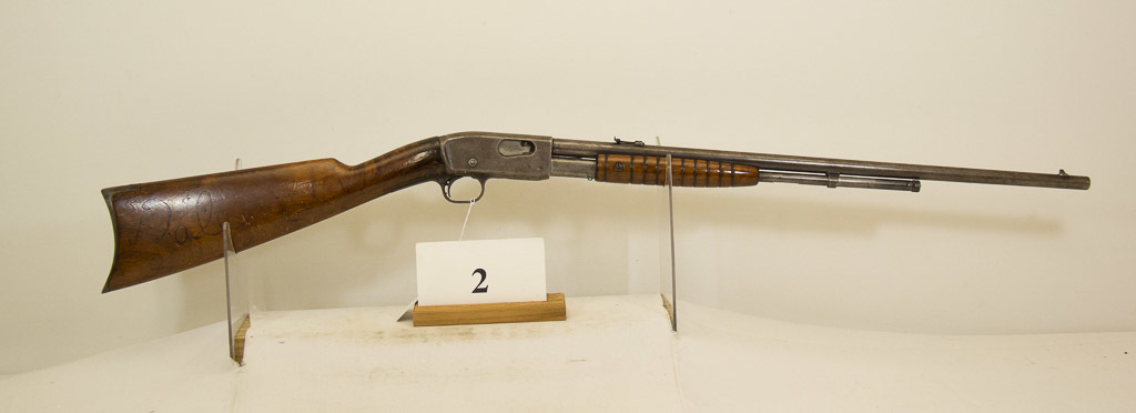 Remington, Model 12-A, Pump Rifle, 22 cal,