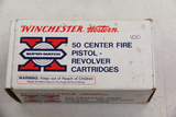 1 Box of 50, Winchester Super Match 38 spl