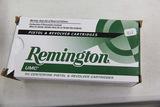1 Box of 50, Remington 357 mag 125 gr JSP