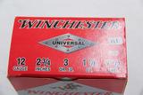 1 Box of 25, Winchester 12 ga 2 3/4