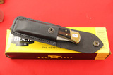 Buck #110 Lock Back Knife with Leather Case and