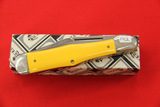 Queen #83A, Single Blade Pocket Knife, Yellow
