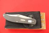 Case #10265, 2 Blade Pocket Knife, Black Handles