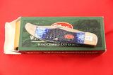 Case #6265SS, 2 Blade Pocket Knife, Blue Bone