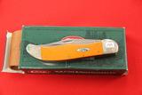Case #10265SS, 2 Blade Pocket Knife, Orange