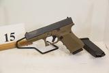 Glock, Model 23, Semi Auto Pistol, 40 cal,