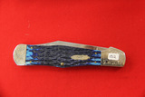 Case #C61050SS, Single Blade Pocket Knife, Blue