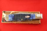 Case #61650SS, Single Blade Pocket Knife, Blue