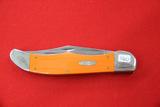 Case, #10265SS, 2 Blade Pocket Knife, Orange
