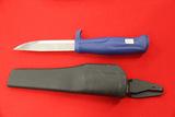 Morakniv, Made in Sweden, Sheath Knife, Blue