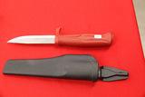 Morakniv, Made in Sweden, Sheath Knife, Red