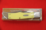 Case #3265SS, 2 Blade Pocket Knife, Yellow