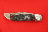 Case #6265SS, 2 Blade Pocket Knife, Red Bone