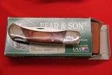 Bears & Son, Single Blade Lock Back Pocket Knife,