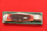 Case #C61050SS, Single Blade Pocket Knife, Red