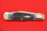 Case #61050SS, Single Blade Pocket Knife, Blue
