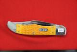 Case #6265SS, 2 Blade Pocket Knife, Orange