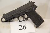 Sig Sauer, Model SP2022, Semi Auto Pistol, 40 cal,