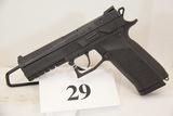 CZ, Model P-09, Semi Auto Pistol, 9 mm cal,