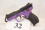 Ruger, Model SR22P, Semi Auto Pistol, 22 cal,